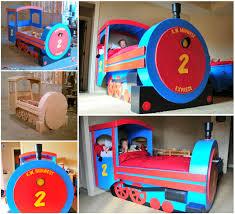 VIEW IN GALLERY DIY Train Bed wonderfuldiy Wonderful DIY Amazing Kids Train  Bed