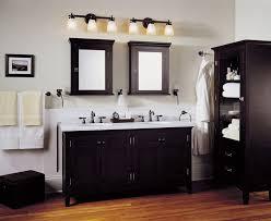 vanity lighting ideas bathroom lighting ideas double vanity white free standing marble countertops dual lamps