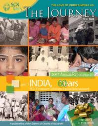 Journey 2008 vol 01 by Sisters of Charity of Nazareth - issuu