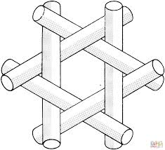 Small Picture Optical Illusion 36 coloring page Free Printable Coloring Pages