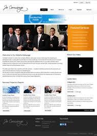 Web Design Company In Jordan Elegant Serious Environment Web Design For A Company By Pb