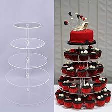 wedding cupcake stands.  Stands 567Tier Round Cupcake Stand  Wedding Party Acrylic Tiered Cake On Stands T