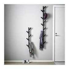 Tjusig Coat Rack Amazing Ikea TJUSIG Wall Hanger Hat Rack Coat Rack BLACK Tree Branch Style