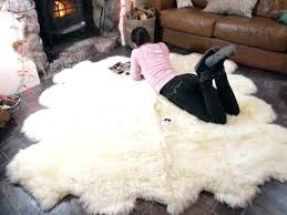 faux fur rug photo 6 of 6 faux fur rug large faux sheepskin rug faux fur rug