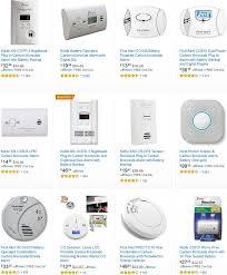 carbon monoxide alarms