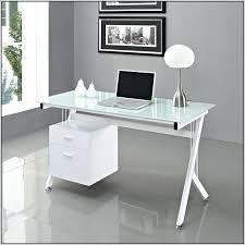 white glass desk glass top desk white glass ikea large computer desk