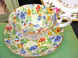 Decorative Cups And Saucers Radfords tea cup and saucer chintz floral pattern teacup low doris 27