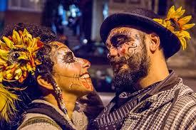 free sugar skull makeup for men with beards
