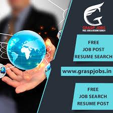 Grasp Jobs Is The Best Job Opening Resume Posting Best Job