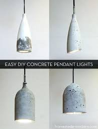 how to make a hanging light fixture pendant lighting stylish how to make easy modern concrete lights in hanging ceiling light fixtures home depot