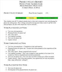 Sample Status Reports Test Status Report Sample Daily