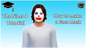 the sims 4 tutorial how to make a face paint