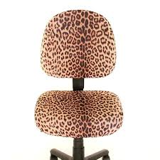 Desk Leopard Print Desk Chairs Brown Animal Print Accent Chair