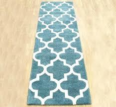 blue runner rug arabesque light teal hall runner rugs modern rugs blue runner rug