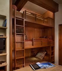 Floating Loft Bed Built In Bunk Bed Ideas Kids Contemporary With Floating Bed