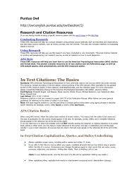 Resume Template Purdue Purdue Owl Resume Template Resume Ideas Resume Template Purdue 1