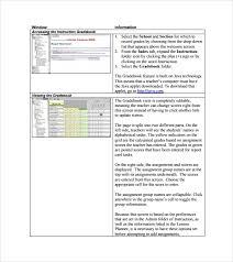 Free 7 Sample Gradebook Templates In Pdf Word Excel Psd