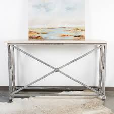 iron console table. Metal Console Table Iron