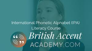 You need to be familiar with each sound, and its proper pronunciation in order for you to speak natural english. Learn The Speech Sounds British Accent Academy