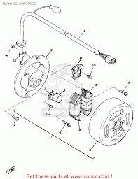 Yamaha dt125 1978 usa flywheel mag o original