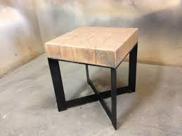 contemporary rustic furniture.  Furniture Modern Rustic Furniture Metaltree Contemporary Side And End Tables  Square Metal Black Stained Chrome Varnished Simple For R