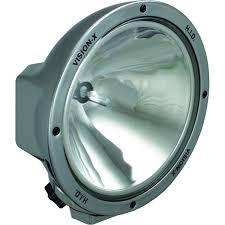 x lighting 8 7 round chrome 50 watt hid spot lamp 4003095