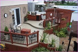 Small Picture Design of Backyard Patio Deck Ideas Garden Design Garden Design