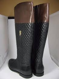 Cole Haan Black Brennan Brown Quilted Flat Riding Boots/Booties ... & Cole Haan Black Brennan Brown Quilted Flat Riding Boots/Booties Size US 6.5  Regular (M, B) - Tradesy Adamdwight.com