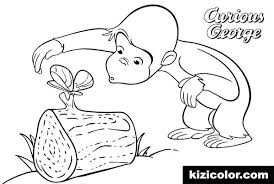 Curious George Free Printable Coloring Pages Coloring Pages Curious
