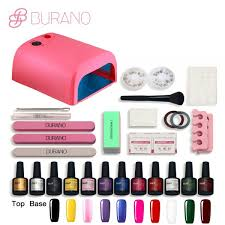 burano 10 color uv gel polish