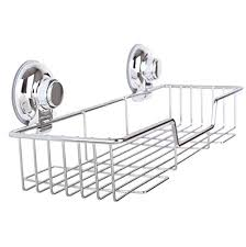 suction cup shower caddy stainless steel shower basket shelf suction cup shower with rotate lock suction cup shower caddy keeps falling suction cup shower