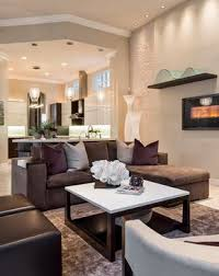 Decorative Chocolate Brown Couch Image Gallery In Living Room Contemporary  Design Ideas With Decorative Barbara Rooch