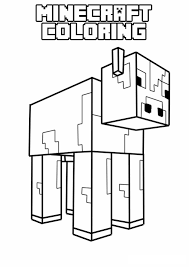 Minecraft Coloring Pages Creeper Colouring New Of Viettiinfo