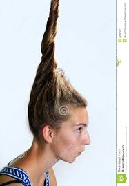 Teen Girl Hair Style eccentric hairstyle stock image image 32991231 4195 by wearticles.com