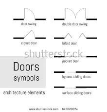 Stylish Inspiration Ideas Floor Plans Symbols 13 Plans  Home ACTArchitectural Floor Plan Door Symbols