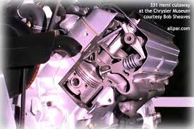 the original chrysler hemi engines creation of the double rocker cutaway view of the chrysler hemi engine 331