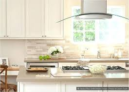 ideas for white cabinets cream subway tile backsplash with kitchen grey countertop