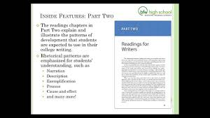 Patterns For College Writing Enchanting Patterns for College Writing 48th Edition A Learn More Video