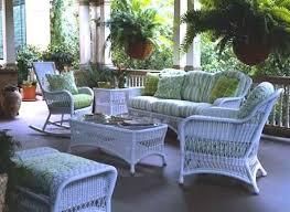 white wicker patio furniture beideo com