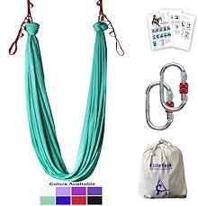 Aerial Yoga Hammock 5 5 Yards Premium Aerial Silk Fabric