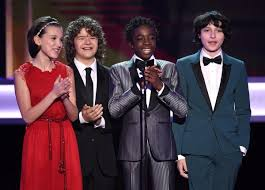 millie bobby brown and gaten matarazzo. millie bobby brown, gaten matarazzo, caleb mclaughlin and finn wolfhard - photos top show moments from the 2017 sag awards ny daily news brown matarazzo a
