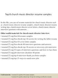 Music Director Resume Sample top224churchmusicdirectorresumesamples224505224224224324053lva224app62249224thumbnail24jpgcb=224243224956503 1