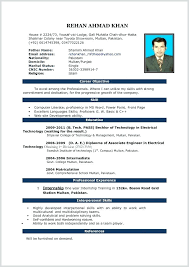 It Resume Format Download In Word Word Format Of Resume Resume Template Download Word Format Free Word