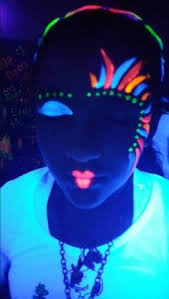 image result for easy kids party make up dark makeupglow makeupblack light