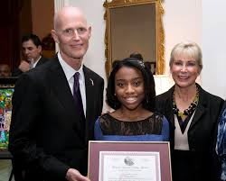 governor rick scott and first lady ann scott announce black bhm1c