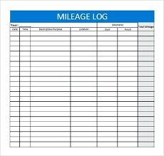 vehicle log book format excel this mileage log template will enable you to keep track of