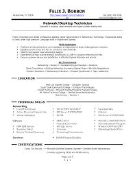 Entry Level Computer Technician Resume Computer Technician Resume