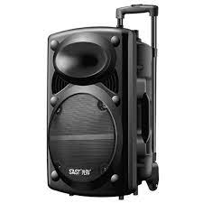 Square Dance Audio Outdoor 20 Inch Subwoofer Large Bluetooth Speaker Box  Wireless Microphone Mobile Karaoke Boombox Music Center|Outdoor Speakers