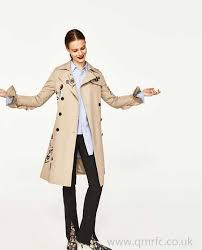 embroidered trench coat camel woman special s trench coats