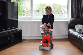the casdon deluxe cleaning trolley es in two designs henry red and hetty pink we had the henry one just like full sized henry hoover we used to